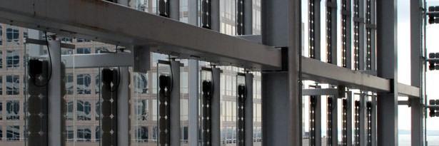 World Technology Corporation BIPV, Panasonic's VBHN240SA11 HIT high efficiency 240wp panels.