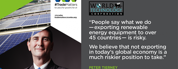 World Technology Contributes to International Chamber of Commerce's WHY TRADE MATTERS TO US Campaign